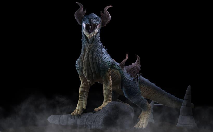 Criatura 3D 3