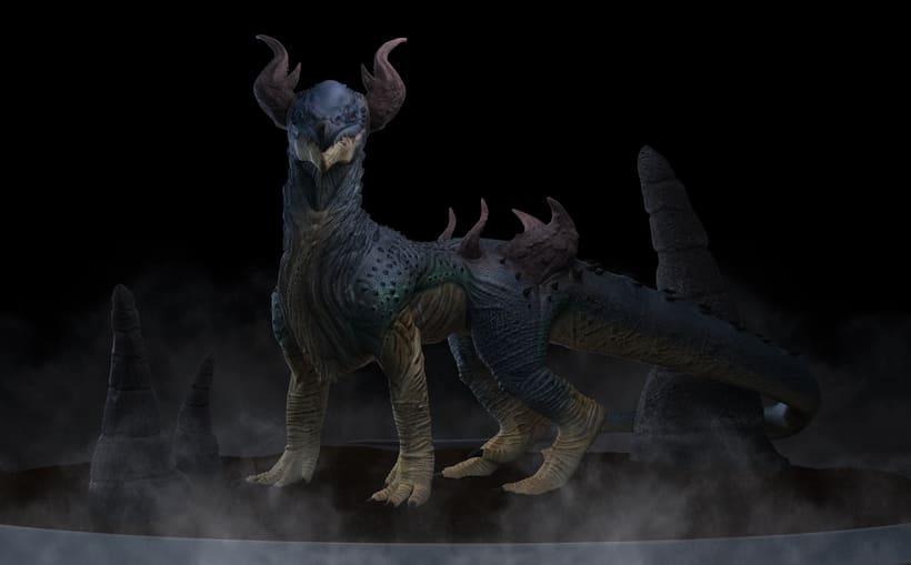 Criatura 3D 4