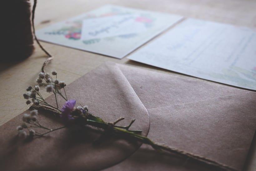 Invitación Boda en papel 1