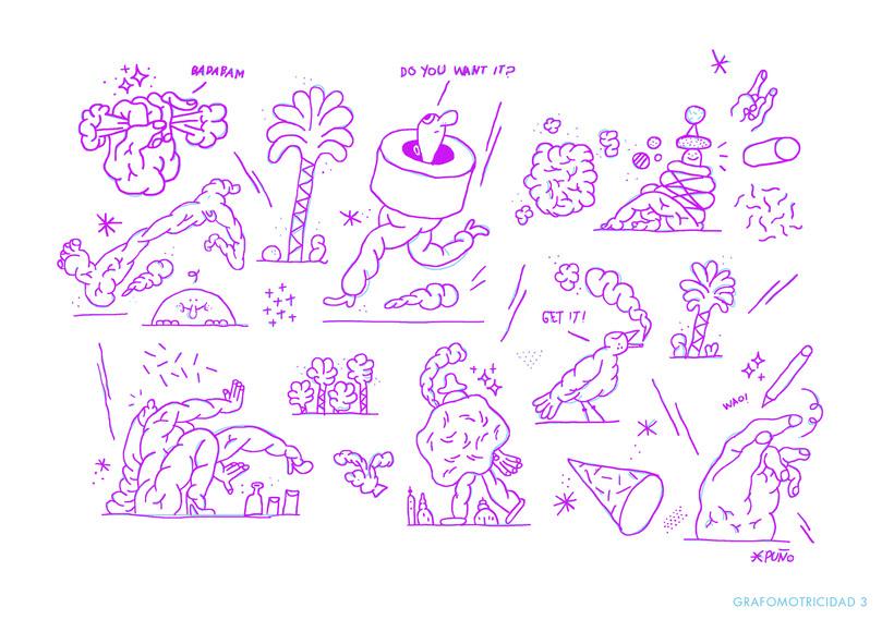 Mi Proyecto del curso: Ilustración original de tu puño y tableta 4