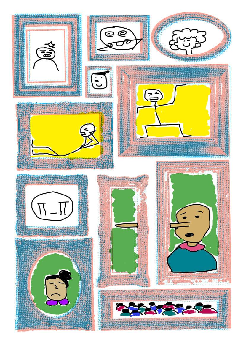 Mi Proyecto del curso: Ilustración original de tu puño y tableta 6