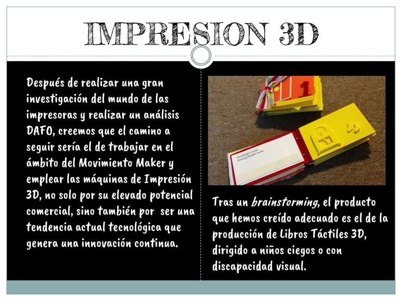 Proyecto: Libros táctiles para personas con discapacidades visuales impresos en 3D 5
