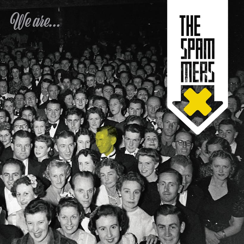"The Spammers ""We are.."" demo 2017 CD cover 0"
