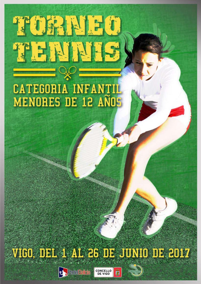 Cartel Tennis Infantil -1