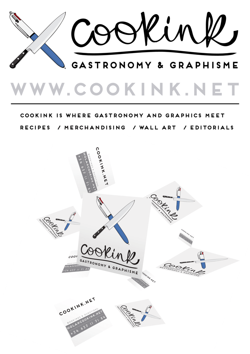 COOKINK: Gastronomy and Graphisme 0