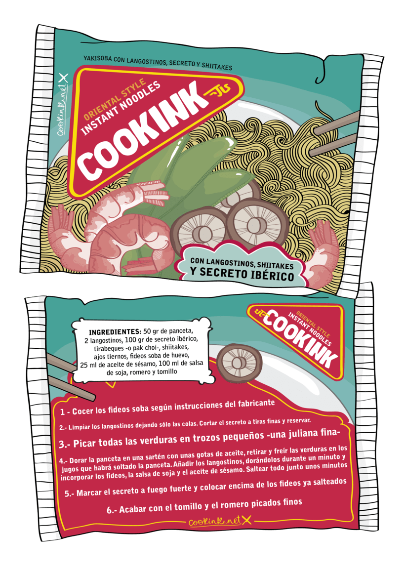 COOKINK: Gastronomy and Graphisme 3