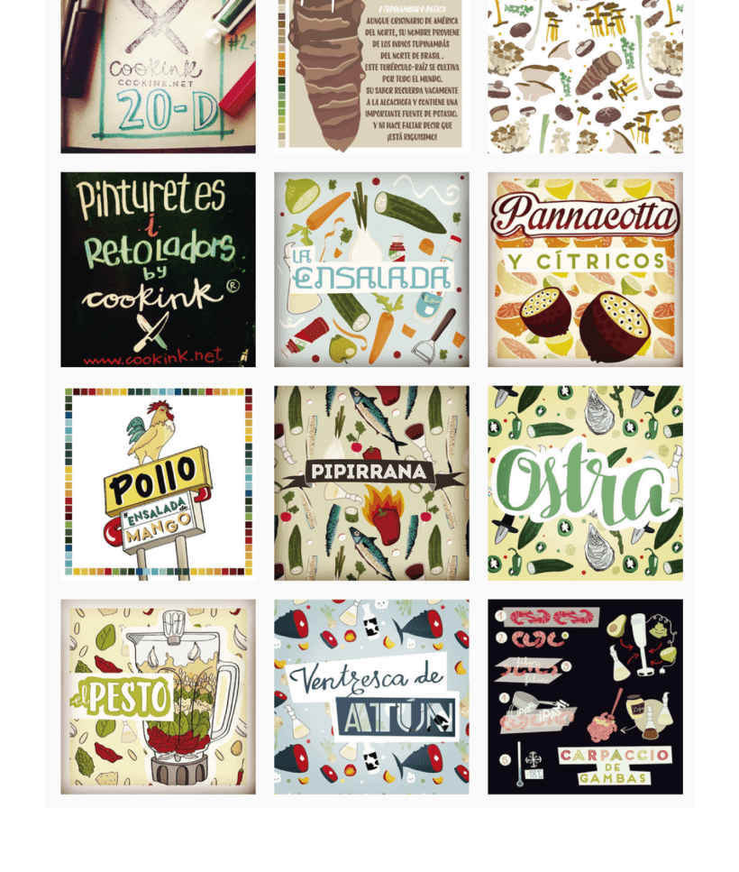 COOKINK: Gastronomy and Graphisme 10