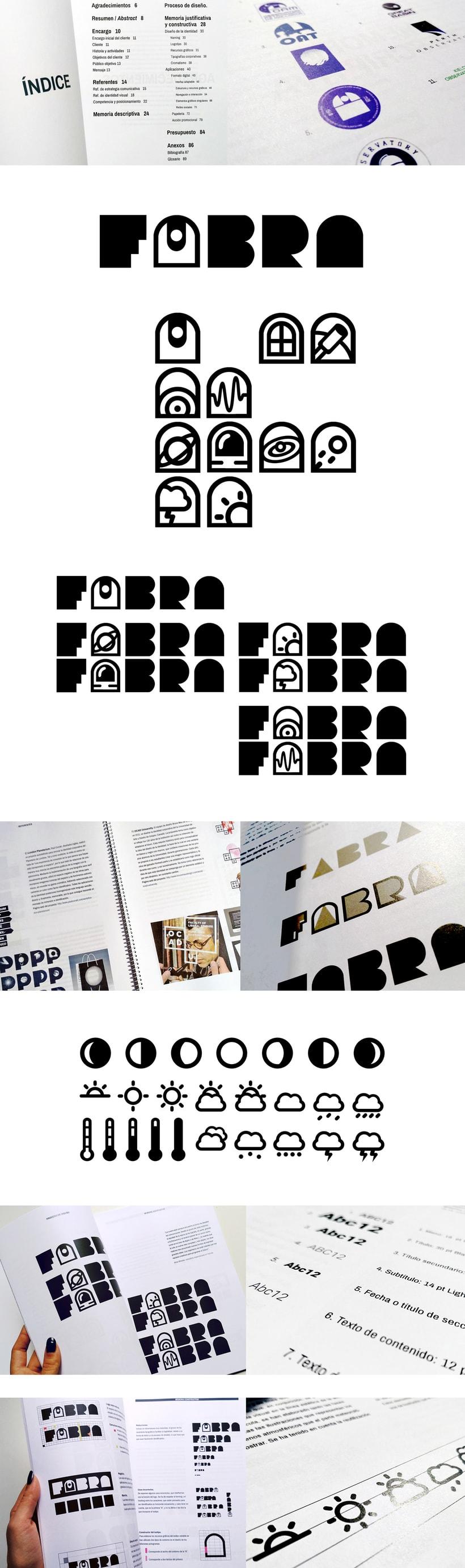 FABRA   /Identidad visual y diseño web 1