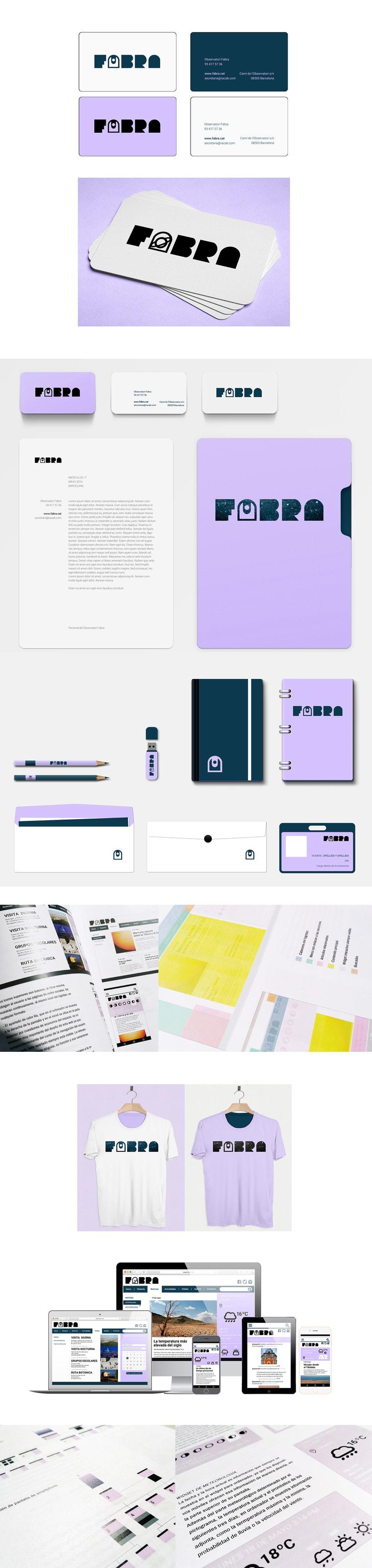 FABRA   /Identidad visual y diseño web 2