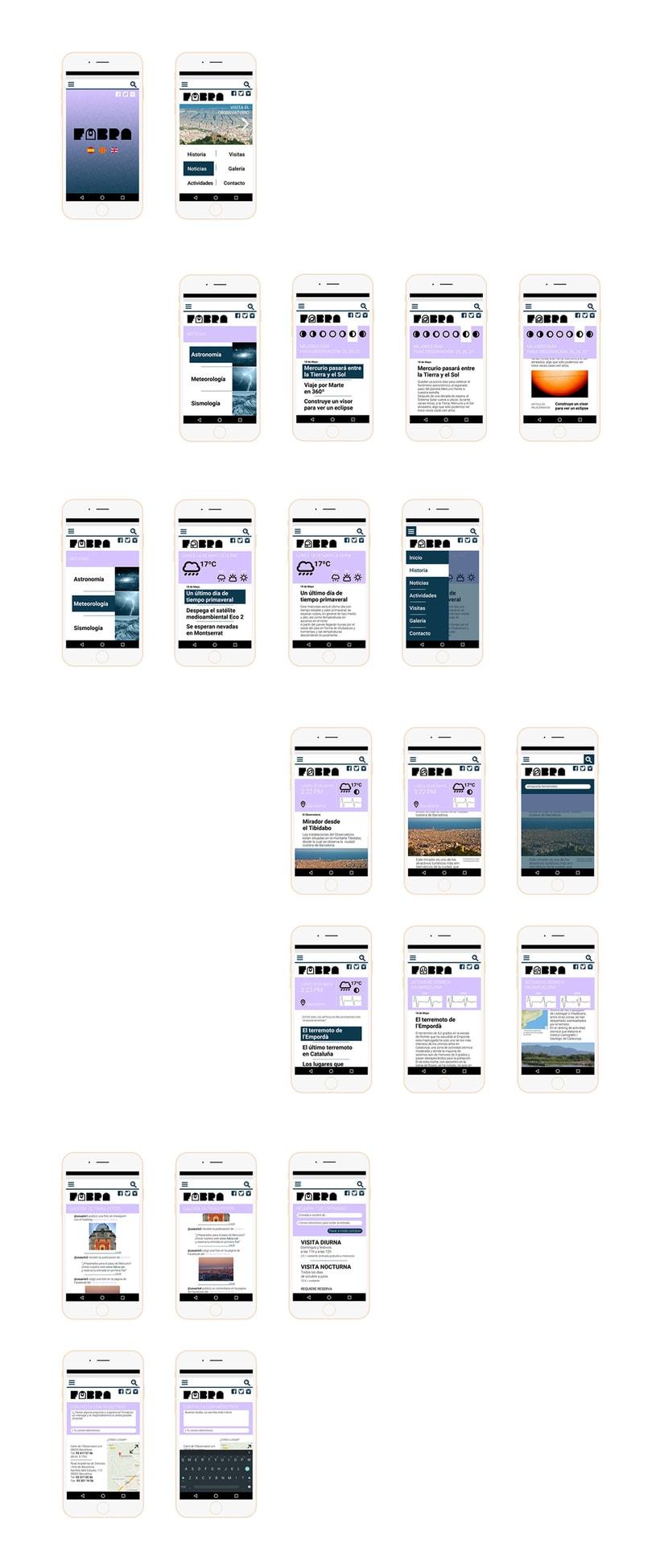 FABRA   /Identidad visual y diseño web 3