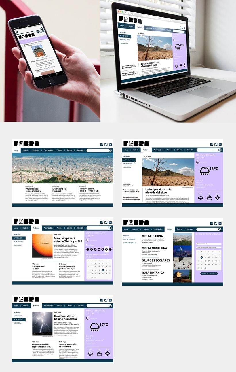 FABRA   /Identidad visual y diseño web 4