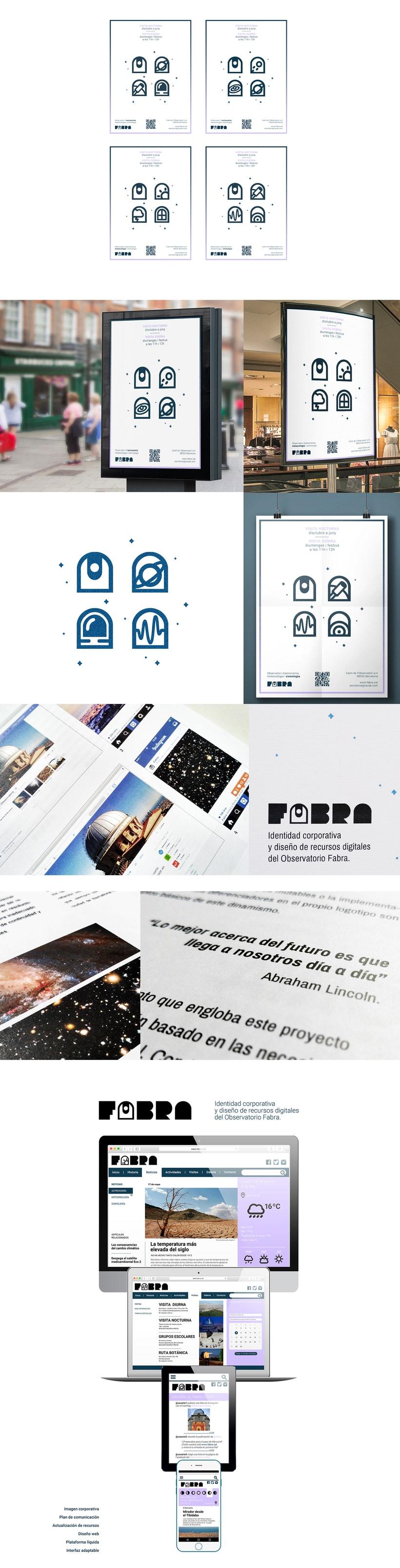 FABRA   /Identidad visual y diseño web 5