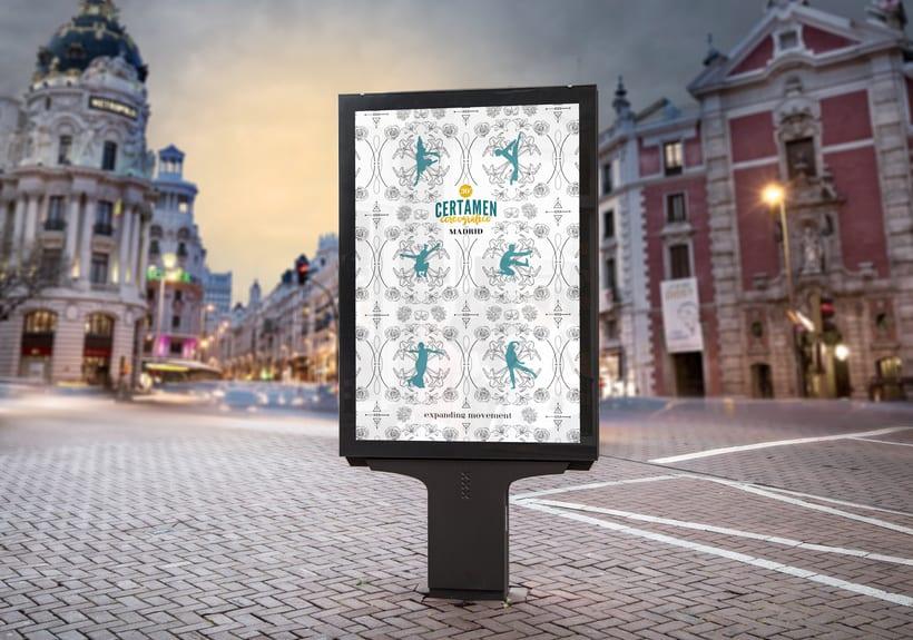 30º Certamen Coreográfico de Madrid. Concurso cartel publicitario. 2