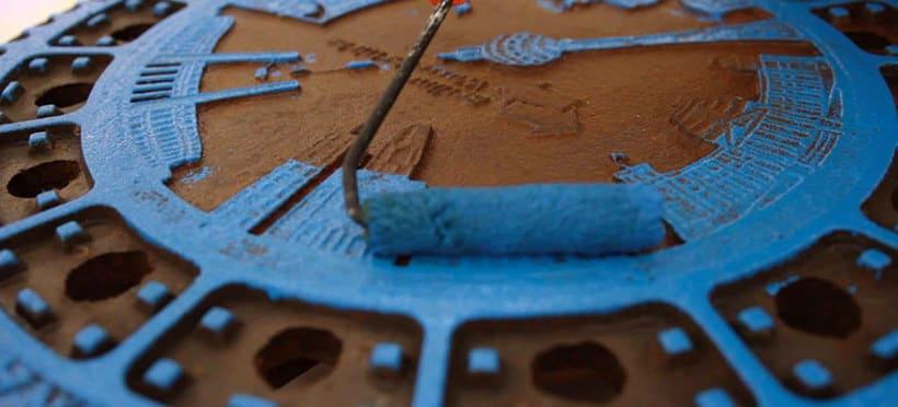 Raubdruckerin: la calle es su taller de grabado 15