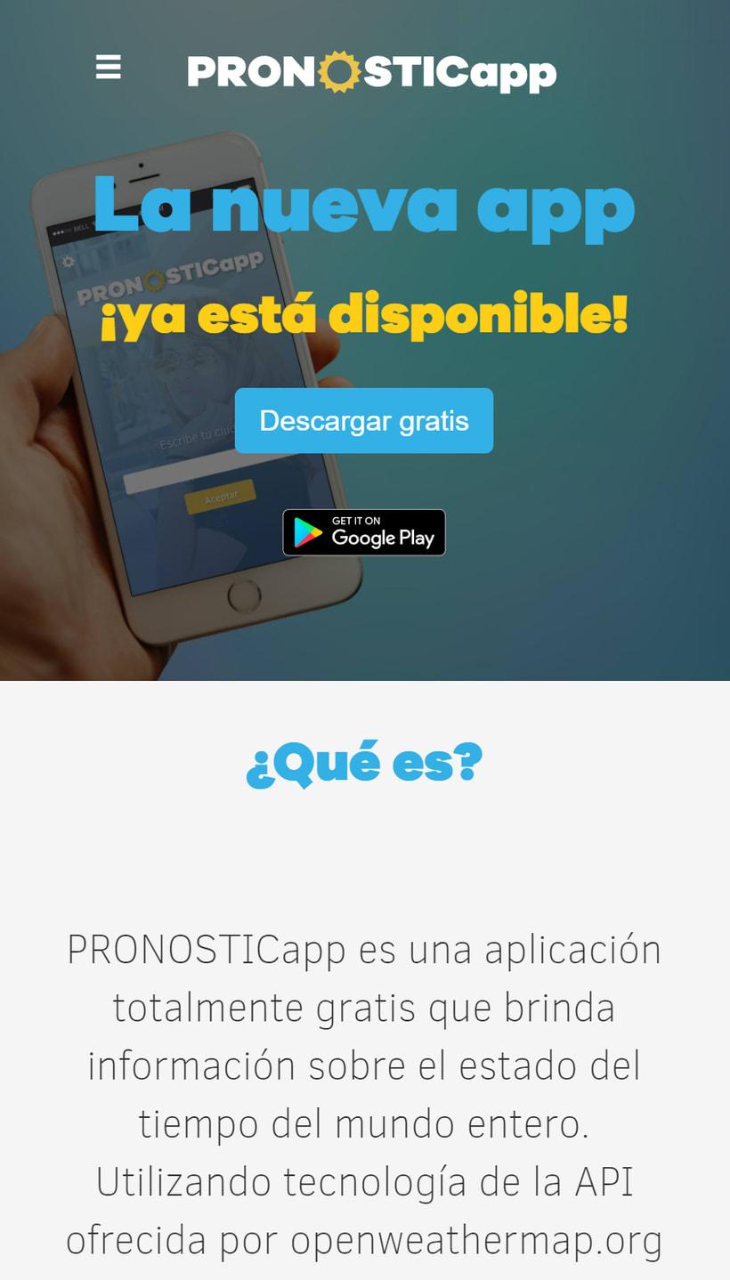 PRONOSTICapp one web page responsiva HTML5  (Programación 3) 5