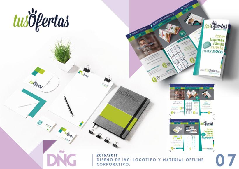 Diseño de IVC: logotipo y material offline corporativo. -1
