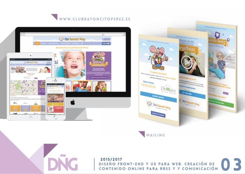 Diseño Front-end y UX para web. Creación de contenido online para RRSS y Comunicación -1
