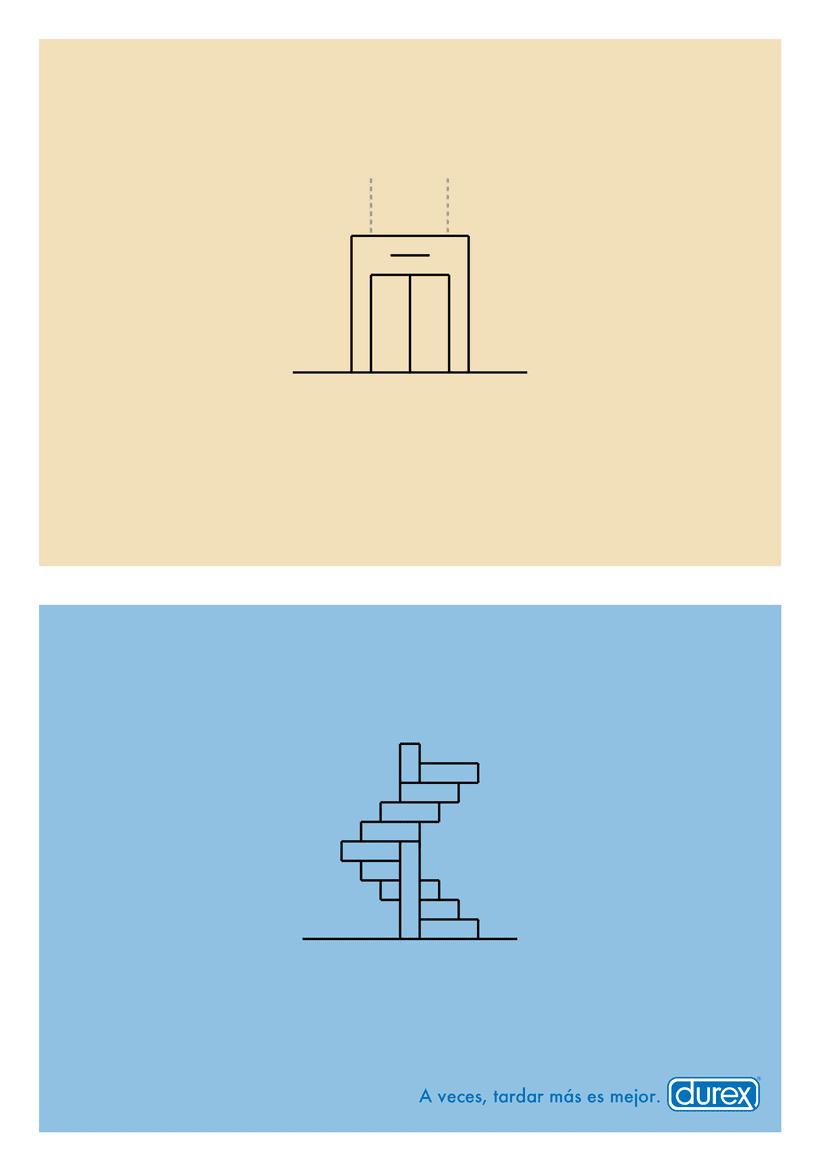 """""""Stairs"""" Para Durex 1"""