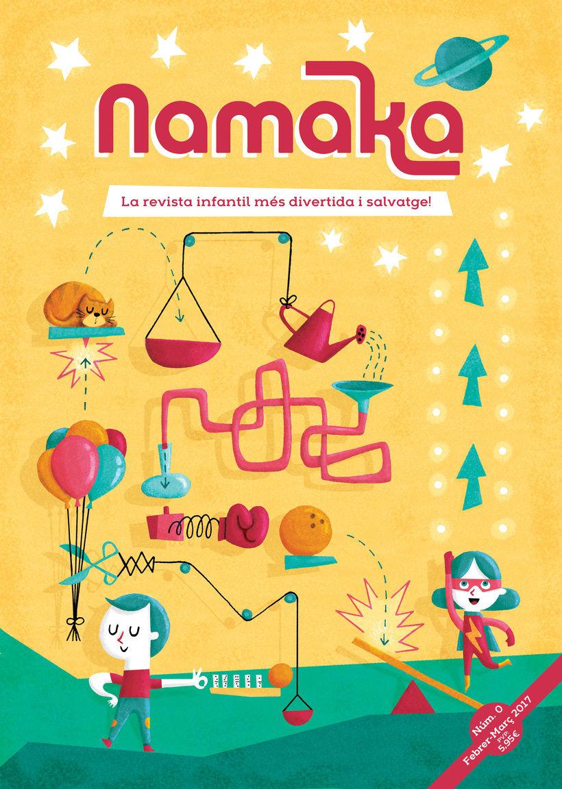 Portada revista infantil Namaka -1