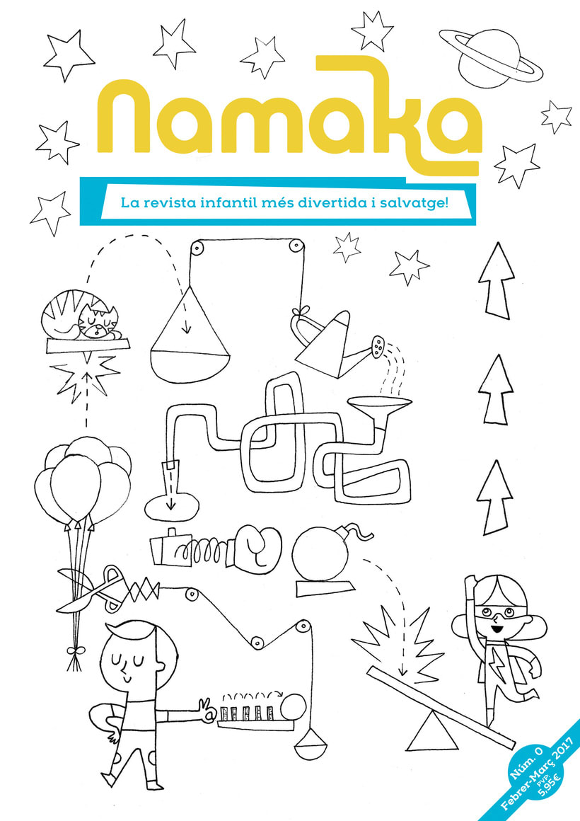 Portada revista infantil Namaka 0