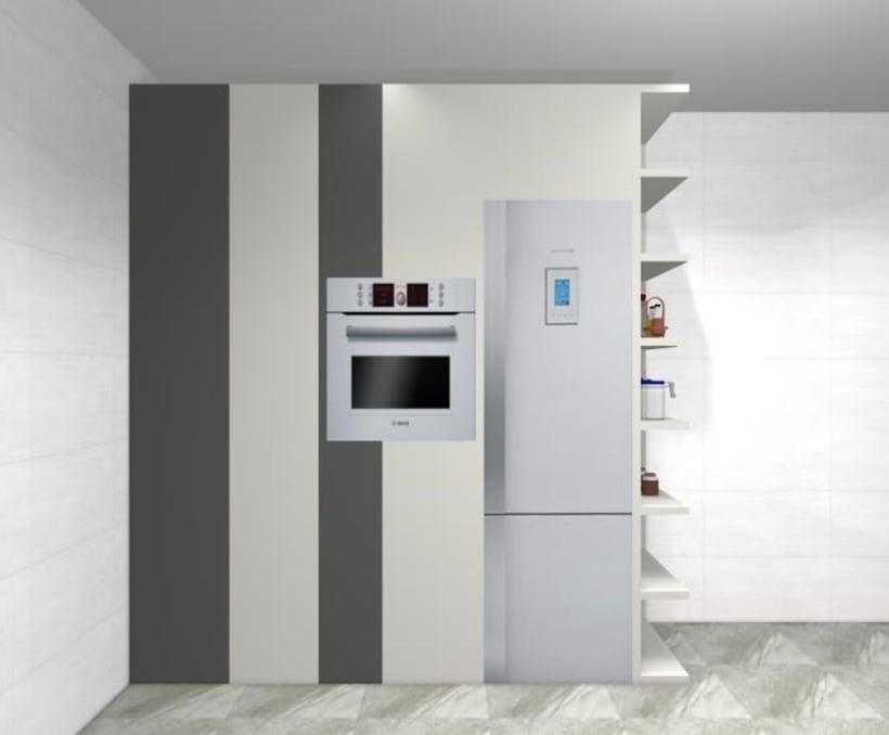 Diseño de cocina clásica y funcional  2