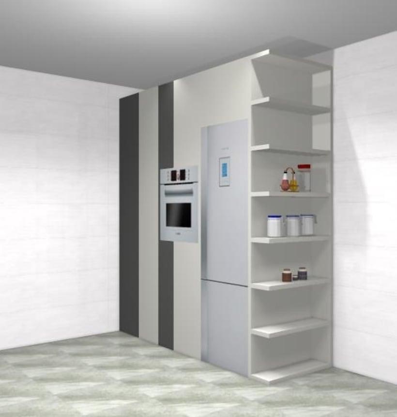 Diseño de cocina clásica y funcional  3