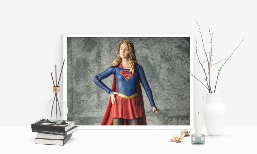 Lámina Supergirl 1