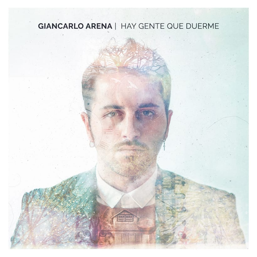 CD Layout 'Hay gente que duerme', Giancarlo Arena. 0