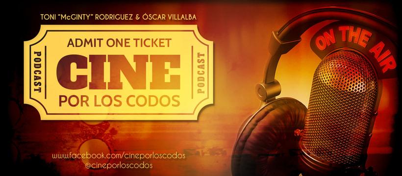 Cine por los Codos Podcast (Logo y portada Fb) 0