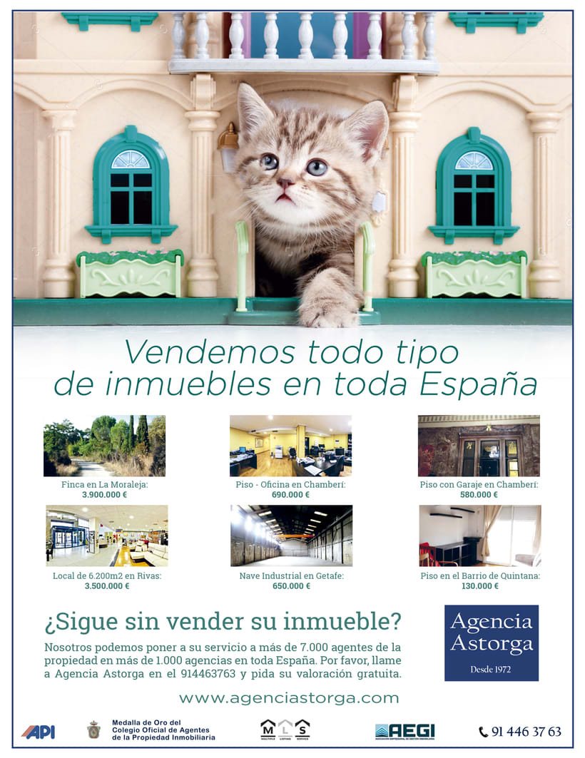 Campaña Prensa para Inmobiliaria 0
