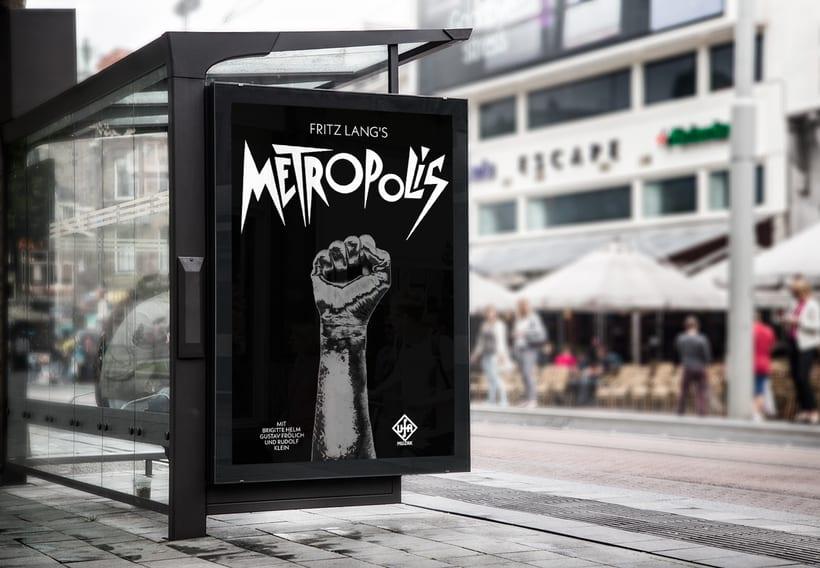 Cartel METROPOLIS 1