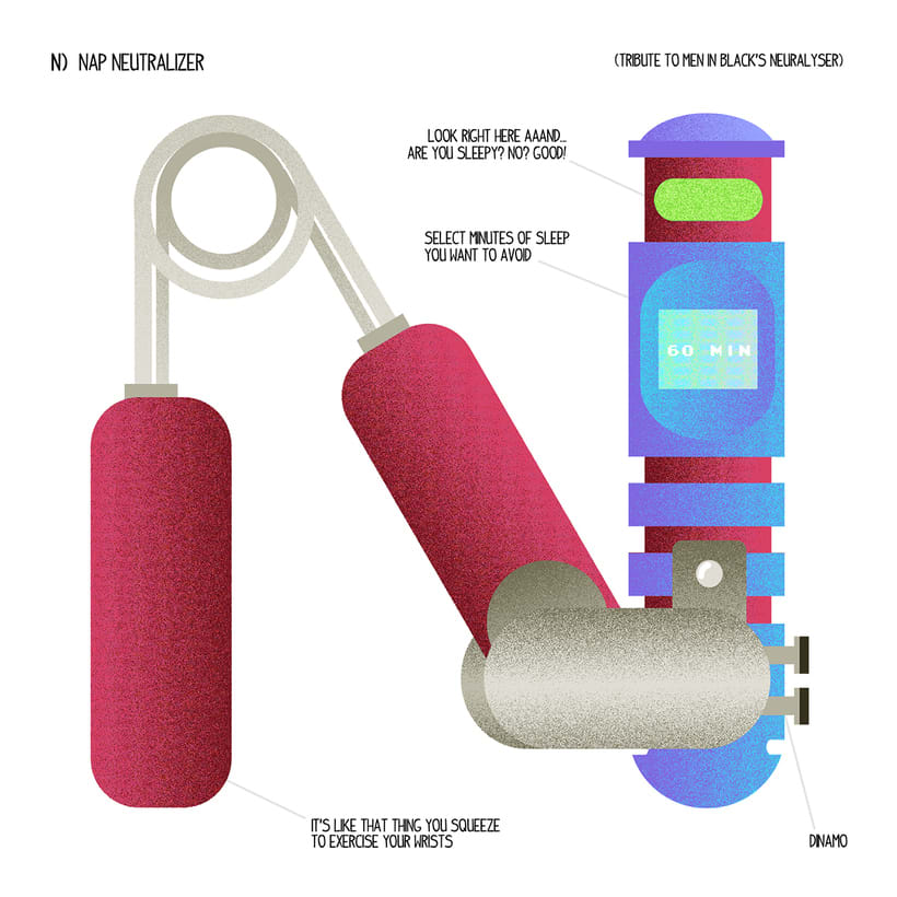 Unlikely but useful inventions /Ilustración. 14