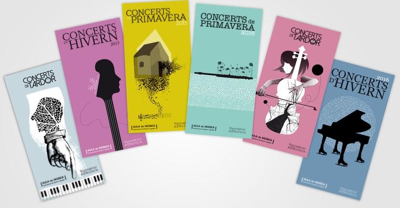 Programación del Aula de Música de la Universitat de València 0