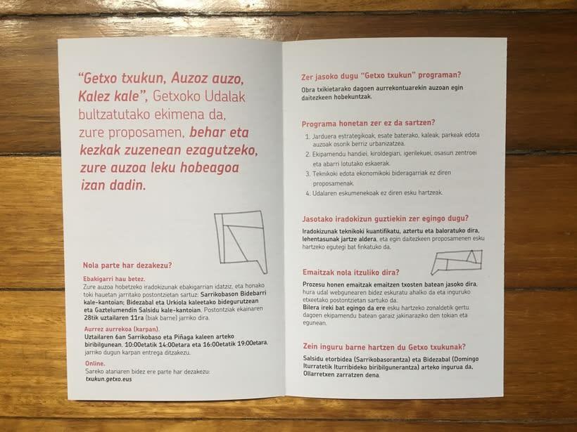 Getxo Txukun - Creación de Identidad Visual y Diseño de pieza informativa 10