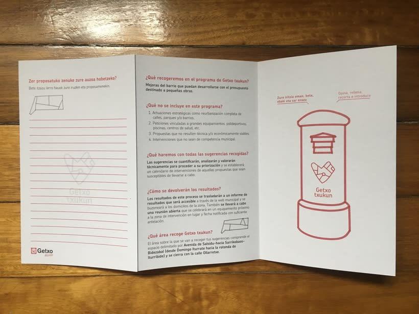 Getxo Txukun - Creación de Identidad Visual y Diseño de pieza informativa 12