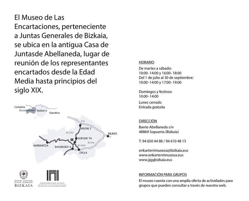 Folleto Museo Encartaciones 1