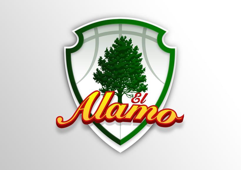 Logo Club de Baloncesto EL ALAMO 0