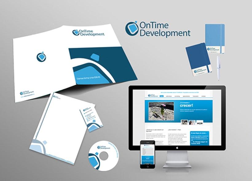 OnTime Development - Diseñado corporativo y web -1