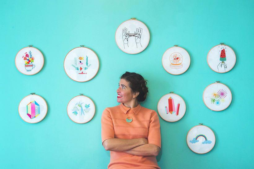 Colección de diagramas de bordados Srta. Lylo x DMC  1
