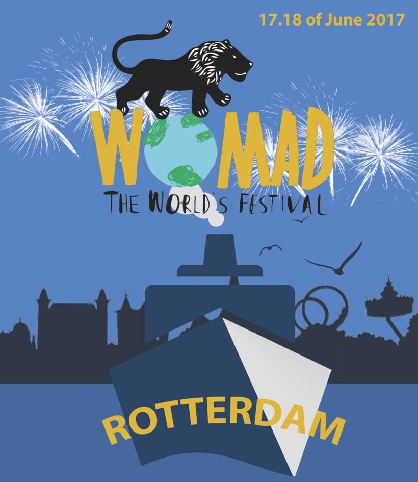 Womad Festival Rotterdam (T-shirt image) 0
