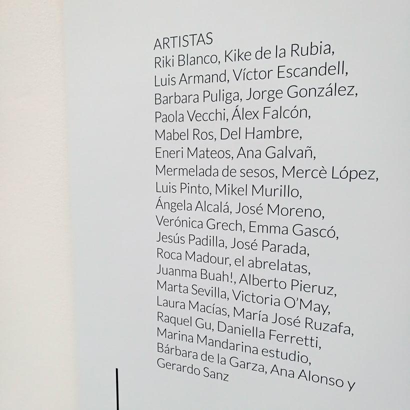"Exhibition ""Ciencia de Acogida"" for Principia Magazine at CentroCentro Cibeles, Madrid. 3"