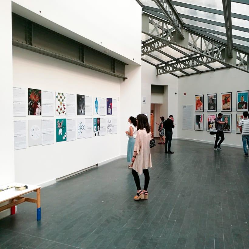 "Exhibition ""Ciencia de Acogida"" for Principia Magazine at CentroCentro Cibeles, Madrid. 4"