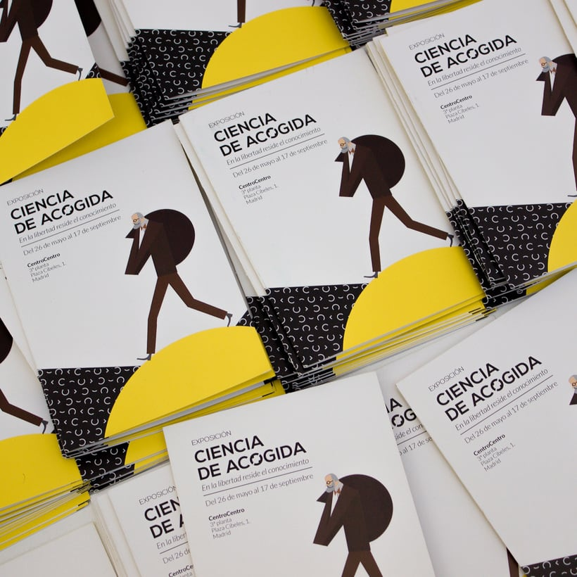 "Exhibition ""Ciencia de Acogida"" for Principia Magazine at CentroCentro Cibeles, Madrid. 8"