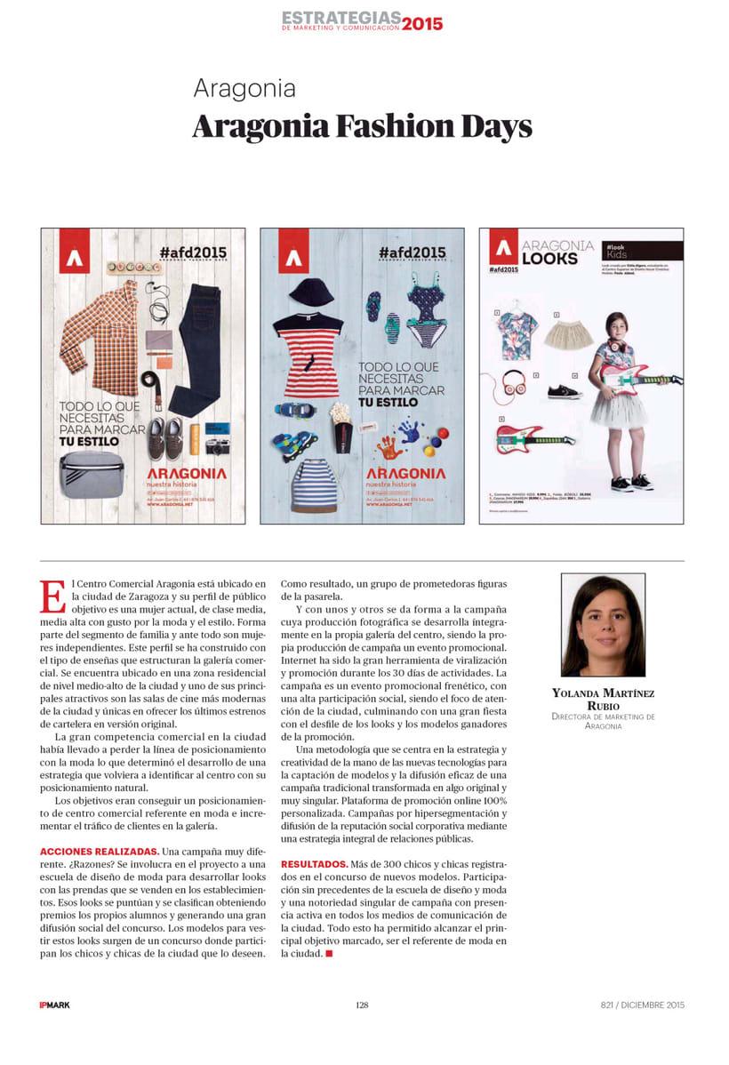 CC Aragonia. Aragonia Fashion Days 2015 1