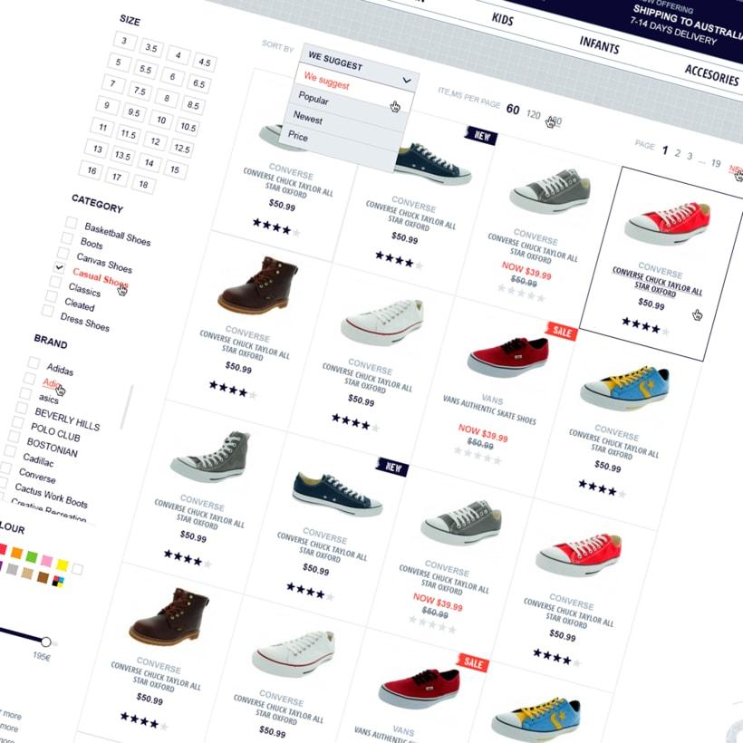 Shoezoo Ecommerce responsive 4