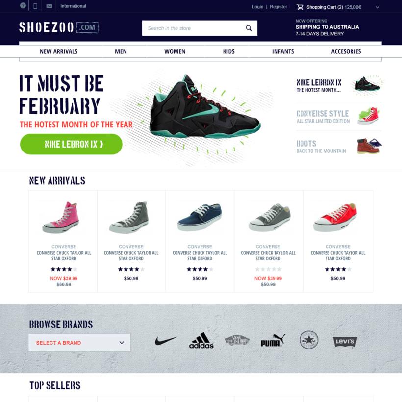 Shoezoo Ecommerce responsive 3