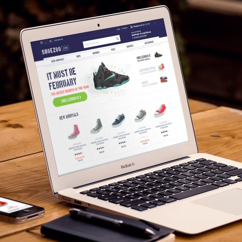 Shoezoo Ecommerce responsive 1