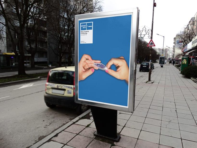 Campaña Publicitaria Sónar D 2