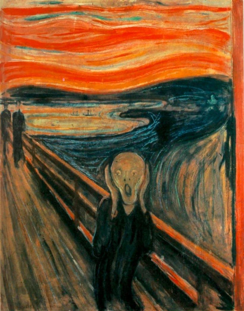 Adobe digitaliza y comparte los pinceles de 'El grito' de Munch 3
