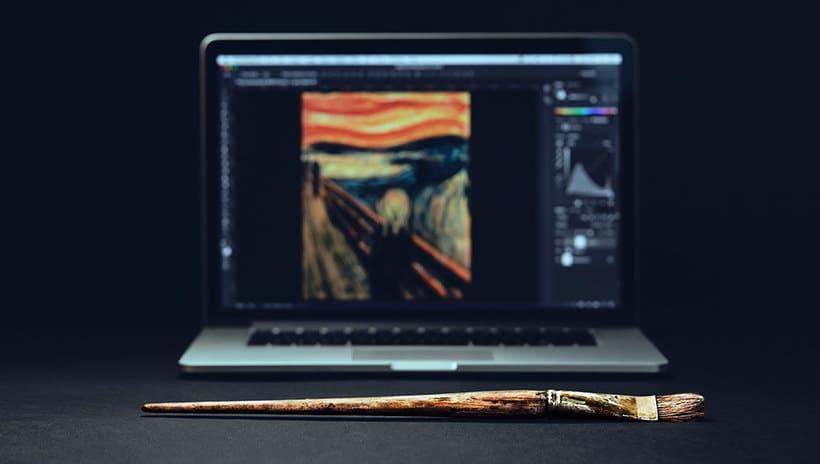Adobe digitaliza y comparte los pinceles de 'El grito' de Munch 6
